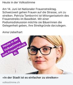 Mein Interview in der Volksstimme Anna, Interview, Woman