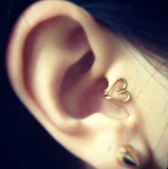 Dainty Ear Tragus Cuffs by LittleDistractions on Etsy, $3.25