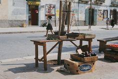 Puglia Cagnano Varano 1968: la pesa   #TuscanyAgriturismoGiratola