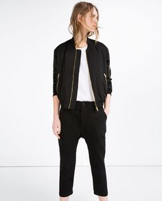 LOW RISE CARGO TROUSERS-View All-TROUSERS-WOMAN-SALE | ZARA United States