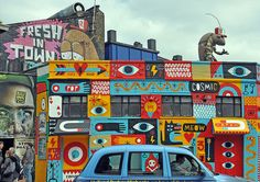 Shoreditch! My favorite area in London!