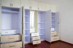 Bed Furniture, Furniture Ideas, Furniture Design, Wardrobes Online, Organization Ideas, Storage Ideas, House Hacks, Skylark, Bedroom Wardrobe