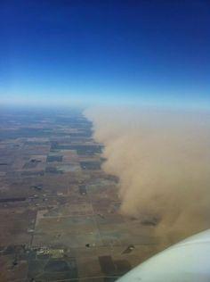 Midland, Tx. Dust storm 2011.