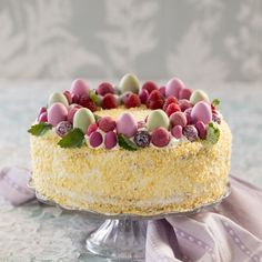 No Bake Desserts, Dessert Recipes, Easter Cake Easy, Raspberry Mousse, Kolaci I Torte, Cupcake Cakes, Cupcakes, Easter Recipes, Cakes And More