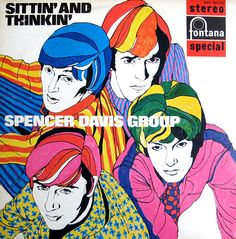 Sittin' and Thinkin' - Spencer Davis Group - cover design Jan Lepair & Sonja Van Der Ent, 1967