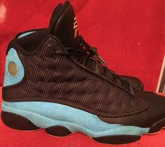 bf99cb589409 Air Jordan 13 XIII Retro CP3 PE Chris Paul Black Blue Away Sz 12  fashion