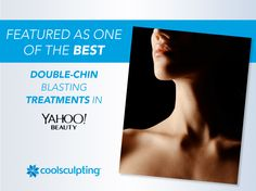 The CoolSculpting procedure was featured in Yahoo Beauty as a fat-blasting option for your double chin! Reduce Double Chin, Cool Sculpting, Stubborn Fat, Body Contouring, Plastic Surgery, Lose Belly Fat, Clinic, Need To Know, Things To Come