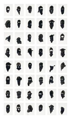 "maisonobscurite: ""after-art: "" Untitled Portraits), 2006 Adam Helms Tattoo Drawings, Body Art Tattoos, Small Tattoos, Tatoos, Art Drawings, Art Flash, Tattoo Flash Art, Tattoo Stencils, Dope Art"