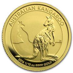 Kangaroo 2016 1/10 troy ounce gouden munt