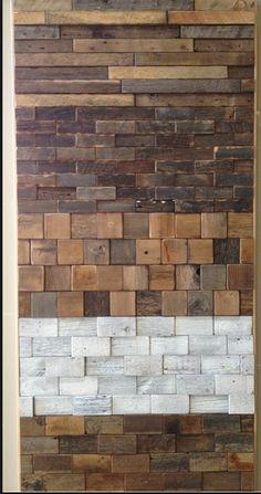 Reclaimed barn wood woodlook ceramic tiles amazing backsplash