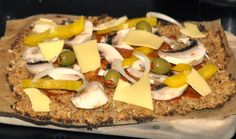 A Travelling Cook: Gluten free Cauliflower pizza base