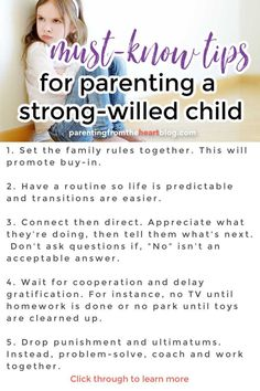 Peaceful Parenting, Gentle Parenting, Parenting Hacks, Strong Willed Child, Family Rules, Positive Discipline, Kids Behavior, Learning Through Play, Ups And Downs
