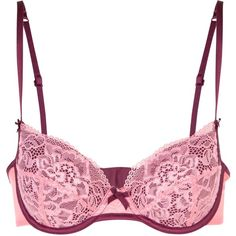Elle Macpherson Intimates Balsam Moon Contour Bra (€28) ❤ liked on Polyvore featuring intimates, bras, lingerie, women, bow lingerie, bow bra, lingerie bras, elle macpherson intimates and underwire bras