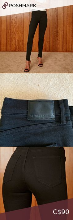 "Aritzia Black Lola High Rise Skinny Jeans … Condition: Like New (worn only once) Size: 31 true to size  Amazing butt & stretchy fit  Rise: 12""  The Lola is fitted through the hip and hits just below the ankle. Innovative pockets and Best Asset™ fabric hug and lift in all the right places, and premium organic-cotton denim means this pair will only get better with time. This version comes in a true black wash and has a clean hem.  Pretty firm on price but make a bundle for a shipping discount… Purple Jeans, Blue Skinny Jeans, Skinny Ankle Jeans, Cropped Skinny Jeans, Bathing Suit Covers, Ag Jeans, Blue Leggings, Black Skinnies, Distressed Jeans"