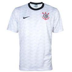 Camisa Corinthians Torcedor Stadium Home S/N Branca – Nike - http://batecabeca.com.br/camisa-corinthians-torcedor-stadium-home-sn-branca-nike.html