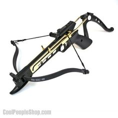 $35.57 Self Cocking Crossbow | Cool People Shop www.coolpeopleshop.com/products/sport-and-outdoor/self-cocking-crossbow  This 80 lb draw weight, self-cocking crossbow makes cocking much more easy and safe. Great for both hunting small game and target shooting,  Manufactured with a strong plastic body and compressed molded fiberglass bow, this crossbow pistol is very durable and perfect for both hunting and target practice.  #crossbow #shooting #pistol #weapon #hunting #targetshooting…