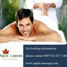 Arab male massage