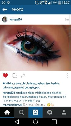 Gaijin gyaru makeup