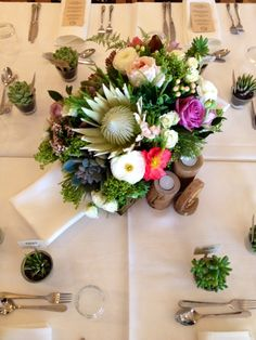 Garden in a box | Ginger Lily & Rose Floral Studio | Rainbow Beach Wedding