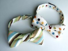 *** use this one! DIY Tutorial: Bows and Ties / DIY Bow Tie Tutorial - Bead&Cord