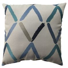 You should see this Diamonte Geo Pillow in Beige & Blue on Daily Sales!