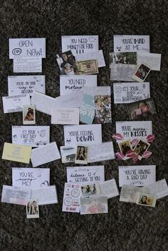 12 Ideas for Open When Letters! # ideas 12 Ideen für Open When Briefe! 12 Ideas for Open When Letters! Cute Boyfriend Gifts, Bf Gifts, Presents For Friends, Boyfriend Anniversary Gifts, Gifts For Your Boyfriend, Cute Gifts, Present Boyfriend, Boyfriend Graduation Gift, Diy Valentine Gifts For Boyfriend