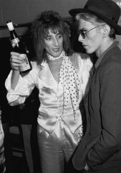 Rod Stewart & David Bowie