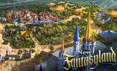 Disney new fantasyland - Opens December 16, 2012 (Missed it)