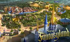 Disney new fantasyland - Opens December 16, 2012 (Missed it)