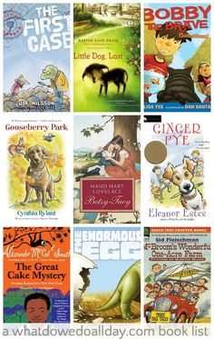 First grade read alouds. Chapter books that year olds will enjoy. Mysteries, adventure, fantasy and friendship stories to read at home or in the classroom. Reading Fluency, Kindergarten Reading, Kids Reading, Reading Lists, Reading Resources, Teaching Reading, Library Lessons, Library Books, Kid Books