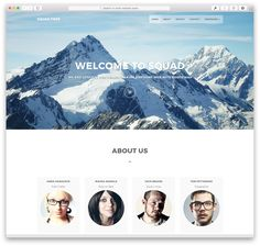 40 Best Free Responsive HTML5 & CSS3 Website Templates