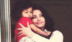 Aishwarya Rai with her Cutest Daughter <3