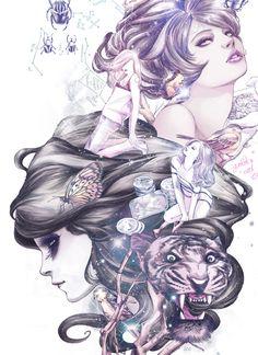 Digital Art by Ise Ananphada