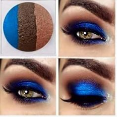 Out of the Blue..... Naked eye trio Three vibrant eyeshades are expertly coordinated in perfect harmony so you can mix and match easily for endless looks Mary Kay Makeup Eyeshadow