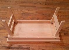 Lap Desk Lap Table Lap Tray Folding Legs Tray by ZacharysHandmade Folding Furniture, Woodworking Furniture, Wood Furniture, Woodworking Projects, Furniture Design, Folding Table Legs, Wood Table Legs, Laptop Desk For Bed, Lap Desk