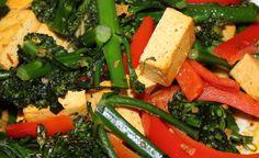 Tofu broccolette stir fry recipe