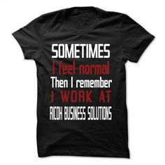 LT I Work At RICOH BUSINESS SOLUTIONS T Shirts, Hoodies, Sweatshirts - #black…