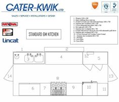 Commercial Kitchen Layout | Cater-Kwik Commercial Events Kitchens  Small commercial farm kitchen