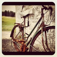 My photo of a rusted, old bicycle at Cape Otway, Victoria — put through Instagram.    See the rest of my photography portfolio on RedBubble: http://www.redbubble.com/people/felinemind