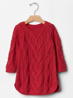 Cable knit dress Product Image