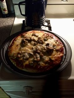 Friday night = homemade pizza #pizza #Boboli #life #retired #lifelessons #Unity #freedom #spirituality #spirit