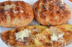 Greek Recipes, Baked Potato, Muffin, Baking, Breakfast, Ethnic Recipes, Food, Bread Making, Breakfast Cafe
