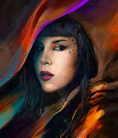 Kat Von D, Tymoteusz Chliszcz on ArtStation at https://www.artstation.com/artwork/dneqJ