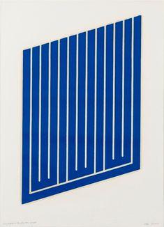 Donald Judd – Selected Works | Paula Cooper Gallery Claude Monet, Art Optical, Action Painting, Art Graphique, Woodblock Print, Op Art, Geometric Art, Vincent Van Gogh, American Artists