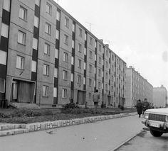 Tóvárosi (Münnich Ferenc) lakónegyed, Horvát István utca a Balatoni utca felé.