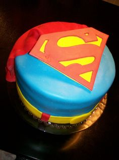 Superman Birthday Cakes Fondant Cake – Pictures Of
