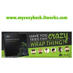 "Expect ""ultimate"" results with this amazing 45-minute body Applicator! The Ultimate Body Applicator is a non-woven cloth wrap that has been infused with a powerful, botanically-based formula to deliver maximum tightening, toning, and firming results where applied to the skin.  Redefines the appearance of your body's contours Tightens, tones, & firms Improves skin texture & tightness Mess-free and simple to use Results in as little as 45 minutes Progressive results over 72 hours"