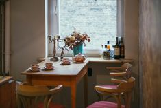 Julian Kranefuss in Berlin | Remodelista -- I only pinned this because hey, someone else that actually uses their tea set(s).