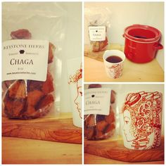 Want glowing skin and an immunity boost? Try Chaga tea http://thelotusroot.com/whatischaga/  handpainted mug by Vincent J Ramirez (www.artisvast.com) #chaga #tea #mug