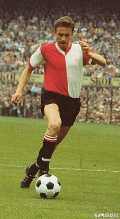 Ove Kindvall of Feyenoord & Sweden in 1970.